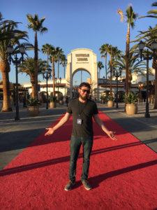 Alex at Universal Studios